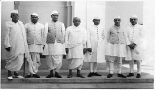 Jawaharlal Nehru was the Prime Minister/Head of the Executive Council